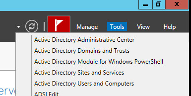 how to open active directory sites and services