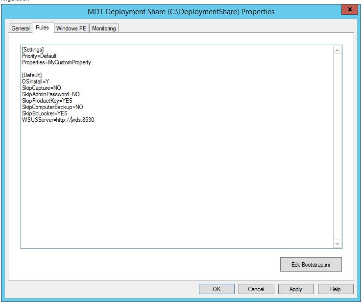 WDS + MDT 2013 + Temporary WSUS for seamless offline updates