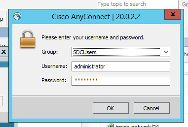 Cisco ASA - AnyConnect VPN with Active Directory Authentication