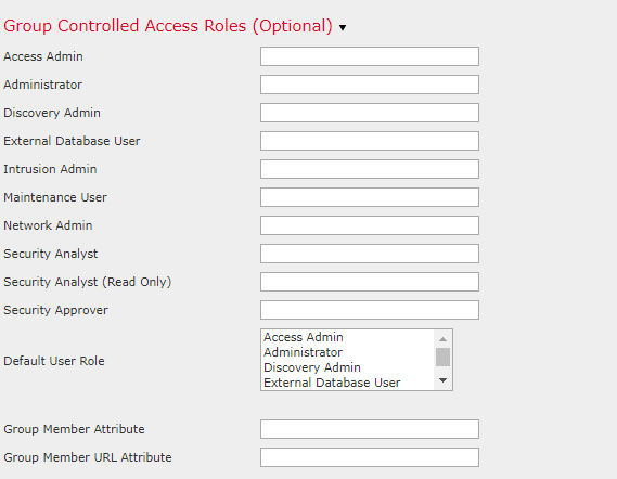 Firepower Management Center Active Directory Authenticated