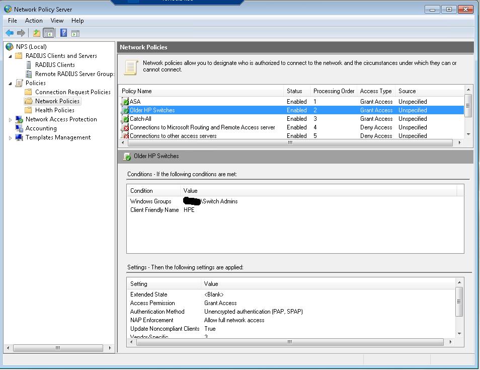 How To Configure Cisco, HP, Dell switch Radius